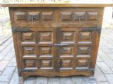 SOLD - Panelled Ash Narrow Cupboard by Younger